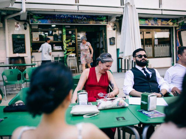 La boda de Leandro y Ainhoa en Madrid, Madrid 87