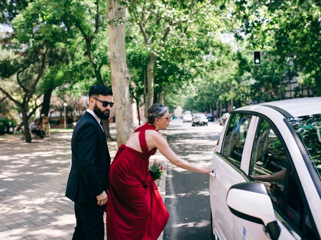 La boda de Leandro y Ainhoa en Madrid, Madrid 102