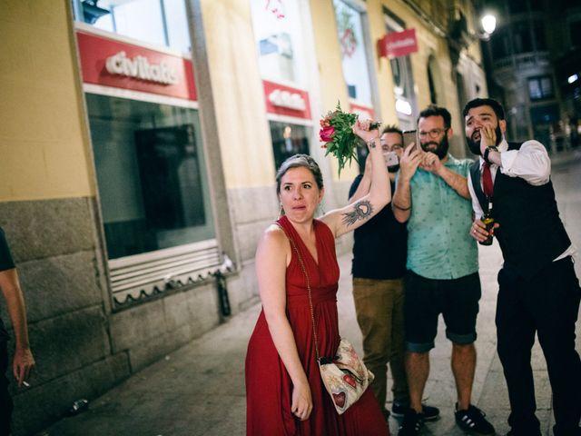 La boda de Leandro y Ainhoa en Madrid, Madrid 161