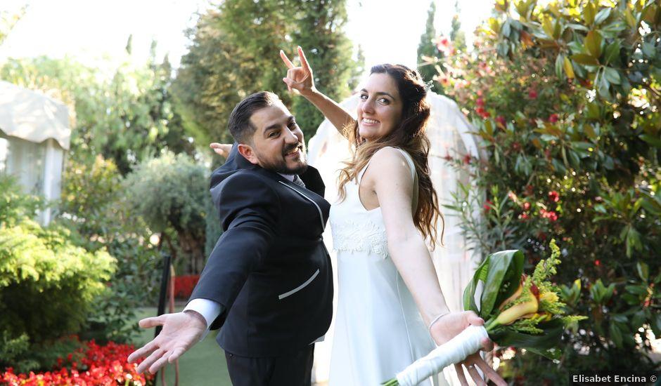 La boda de Adrián y Sandra en Palau De Plegamans, Barcelona