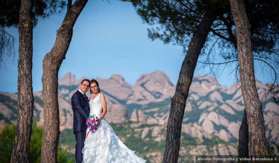 La boda de Cristian y Ariana en El Bruc, Barcelona
