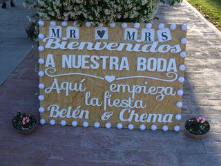 La boda de Belen y Chema 1