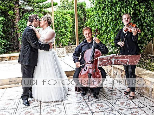 La boda de Francisco y MªAmparo en L' Olleria, Valencia 4