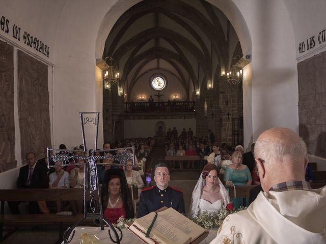 La boda de Fernando y Auxi en La Alberca, Salamanca 18