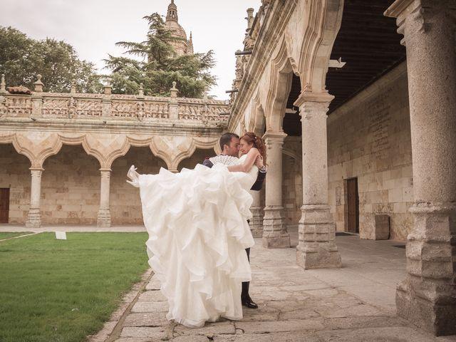 La boda de Fernando y Auxi en La Alberca, Salamanca 29