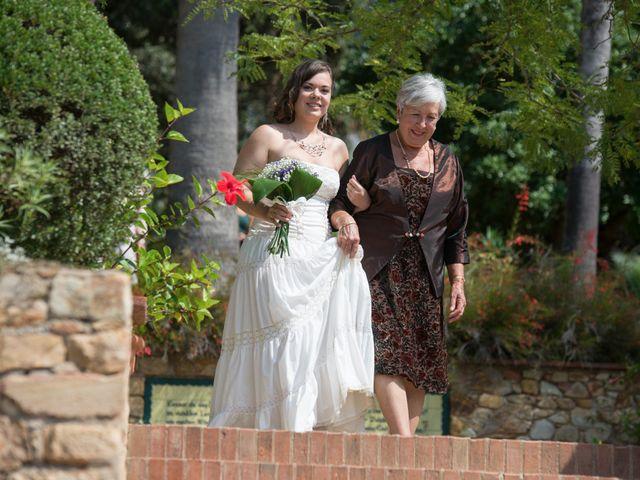 La boda de Albert y Aina en Blanes, Girona 2