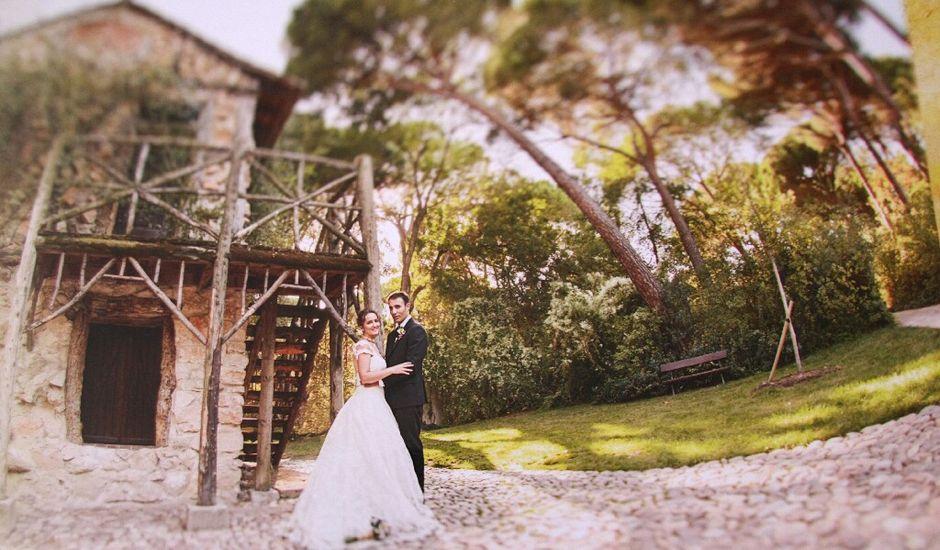 La boda de Santiago y Virginia en Loeches, Madrid