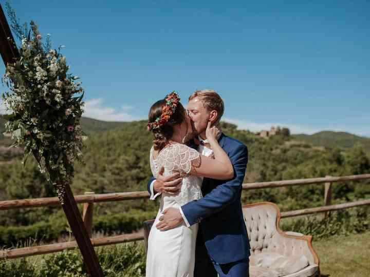 La boda de Diana  y Marcel