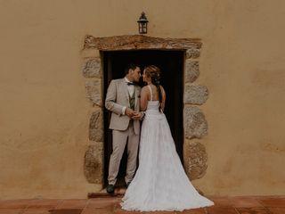 La boda de Jennifer y Albert