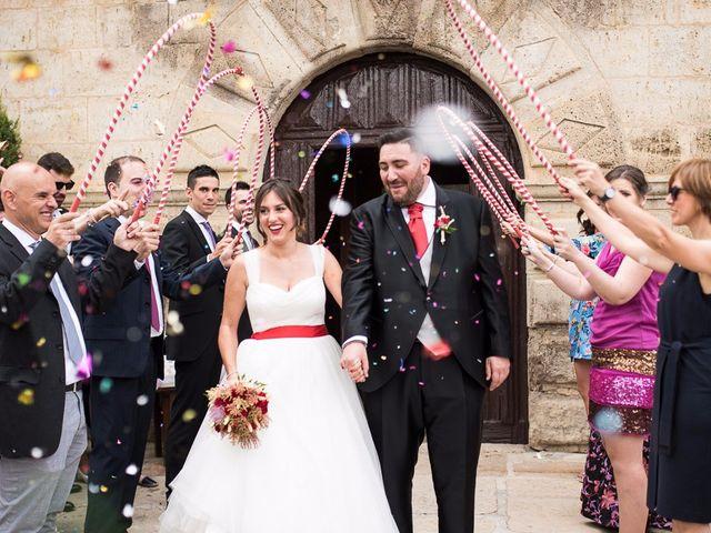 La boda de Javi y Elena en Piña De Campos, Palencia 21