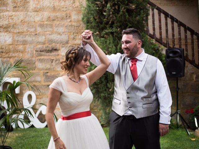 La boda de Javi y Elena en Piña De Campos, Palencia 32