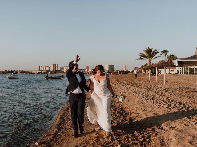 La boda de Joma y Mariu en La Manga Del Mar Menor, Murcia 27