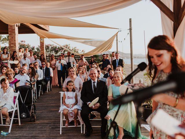 La boda de Joma y Mariu en La Manga Del Mar Menor, Murcia 32