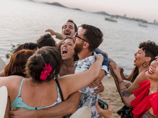La boda de Joma y Mariu en La Manga Del Mar Menor, Murcia 38