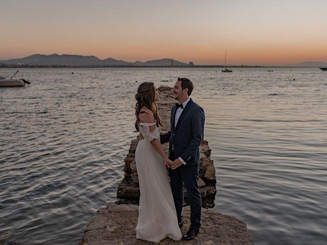 La boda de Joma y Mariu en La Manga Del Mar Menor, Murcia 1