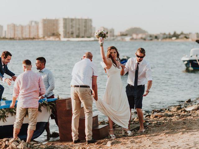 La boda de Joma y Mariu en La Manga Del Mar Menor, Murcia 66