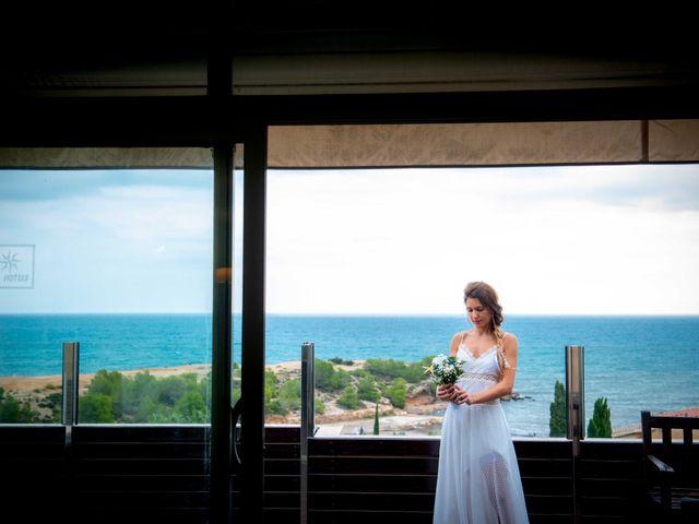 La boda de Nacho y Silvia en L' Ametlla De Mar, Tarragona 18