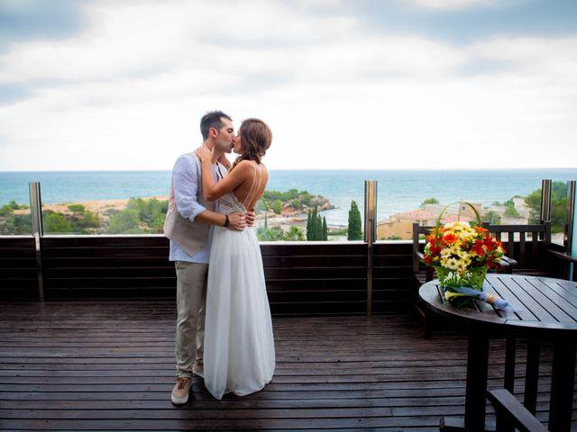 La boda de Nacho y Silvia en L' Ametlla De Mar, Tarragona 20