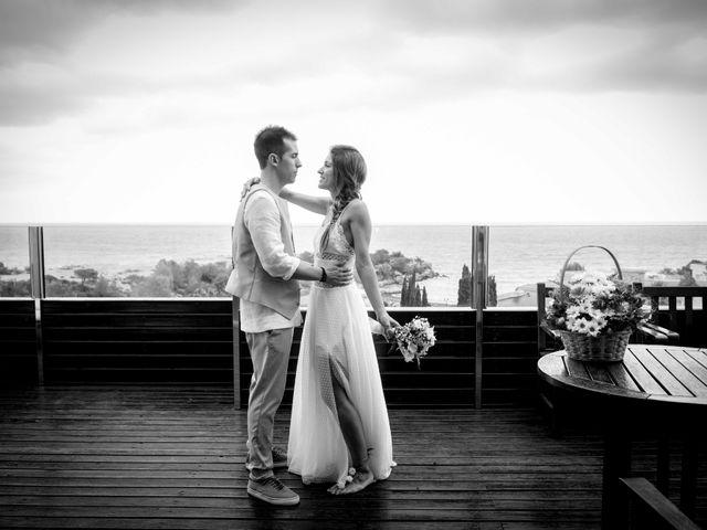 La boda de Nacho y Silvia en L' Ametlla De Mar, Tarragona 21