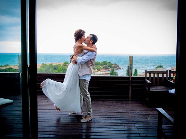 La boda de Nacho y Silvia en L' Ametlla De Mar, Tarragona 22