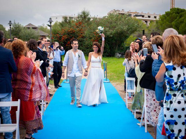 La boda de Nacho y Silvia en L' Ametlla De Mar, Tarragona 31