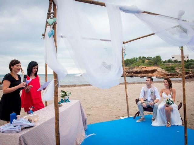 La boda de Nacho y Silvia en L' Ametlla De Mar, Tarragona 32