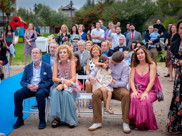 La boda de Nacho y Silvia en L' Ametlla De Mar, Tarragona 34