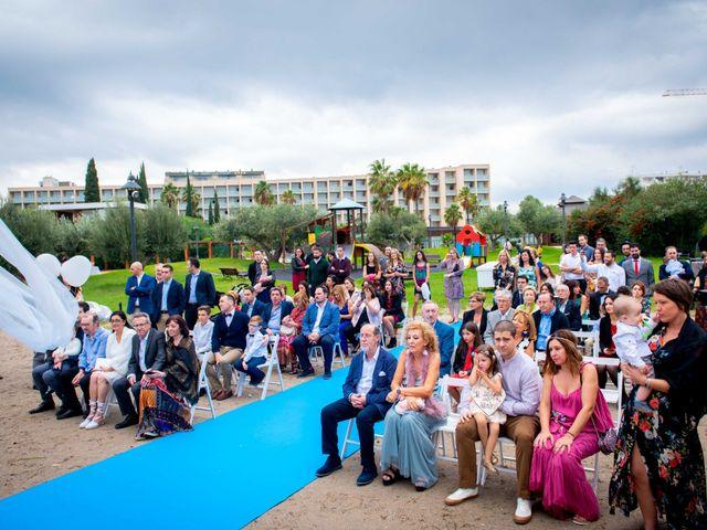 La boda de Nacho y Silvia en L' Ametlla De Mar, Tarragona 36