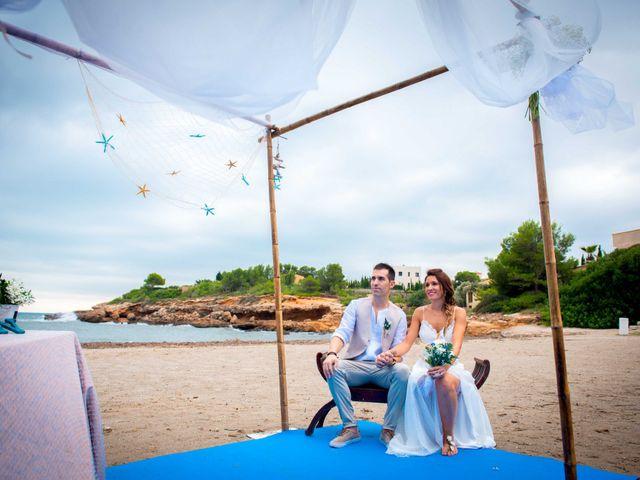 La boda de Nacho y Silvia en L' Ametlla De Mar, Tarragona 37