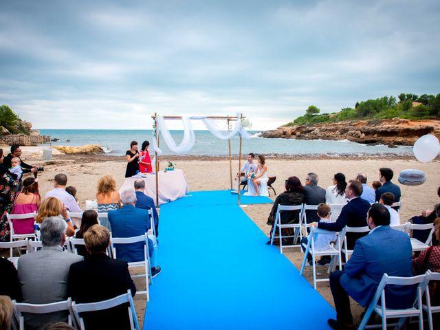 La boda de Nacho y Silvia en L' Ametlla De Mar, Tarragona 38