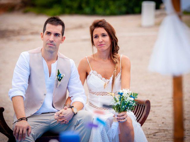 La boda de Nacho y Silvia en L' Ametlla De Mar, Tarragona 39