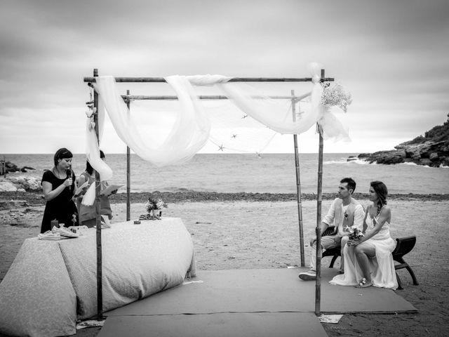 La boda de Nacho y Silvia en L' Ametlla De Mar, Tarragona 40
