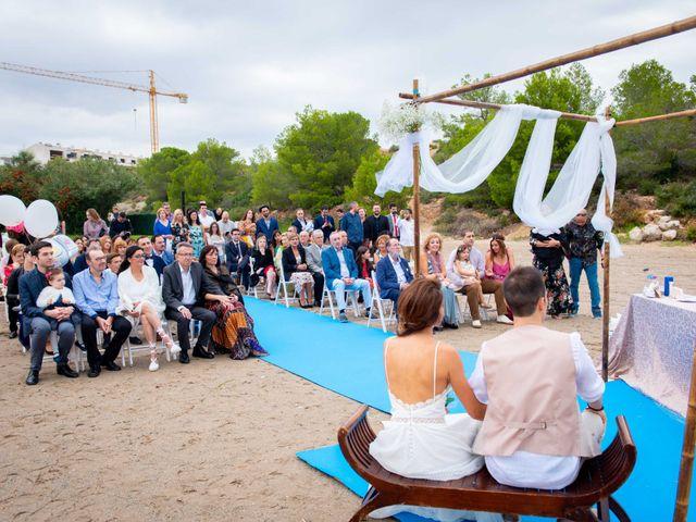 La boda de Nacho y Silvia en L' Ametlla De Mar, Tarragona 41