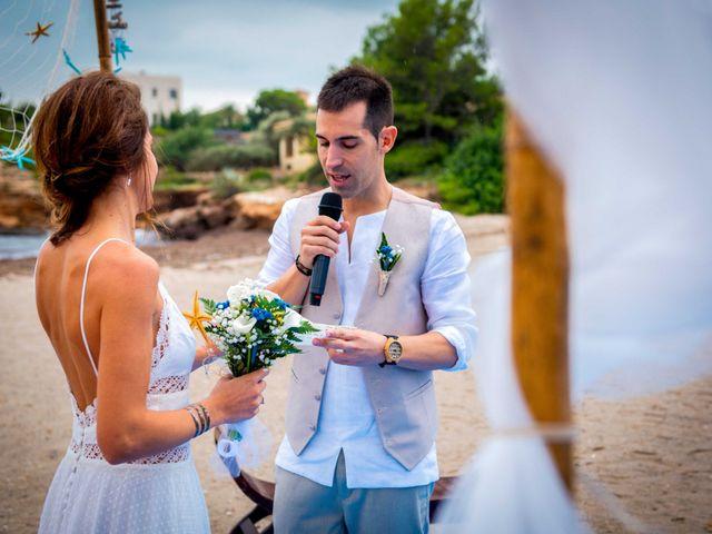La boda de Nacho y Silvia en L' Ametlla De Mar, Tarragona 43