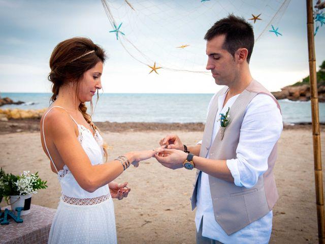 La boda de Nacho y Silvia en L' Ametlla De Mar, Tarragona 46