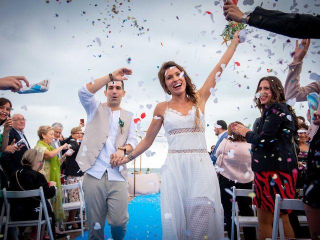 La boda de Nacho y Silvia en L' Ametlla De Mar, Tarragona 48