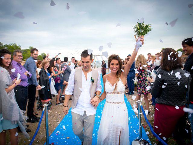 La boda de Nacho y Silvia en L' Ametlla De Mar, Tarragona 49