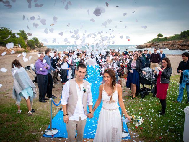La boda de Nacho y Silvia en L' Ametlla De Mar, Tarragona 50