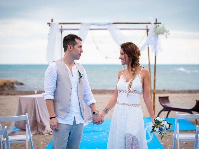 La boda de Nacho y Silvia en L' Ametlla De Mar, Tarragona 52