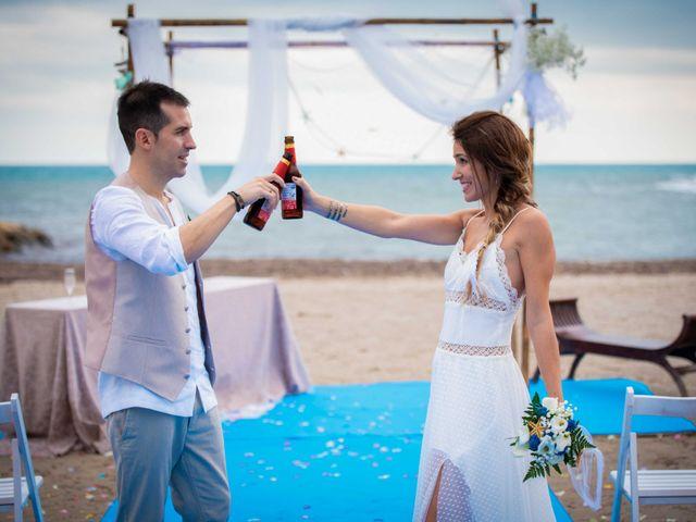 La boda de Nacho y Silvia en L' Ametlla De Mar, Tarragona 53