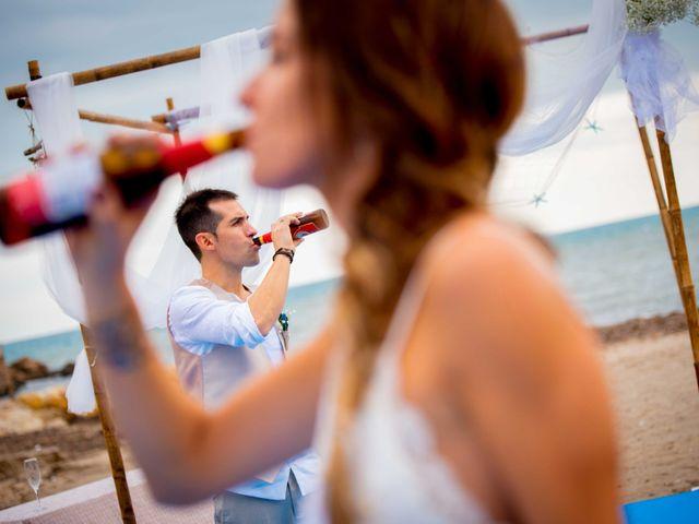 La boda de Nacho y Silvia en L' Ametlla De Mar, Tarragona 54