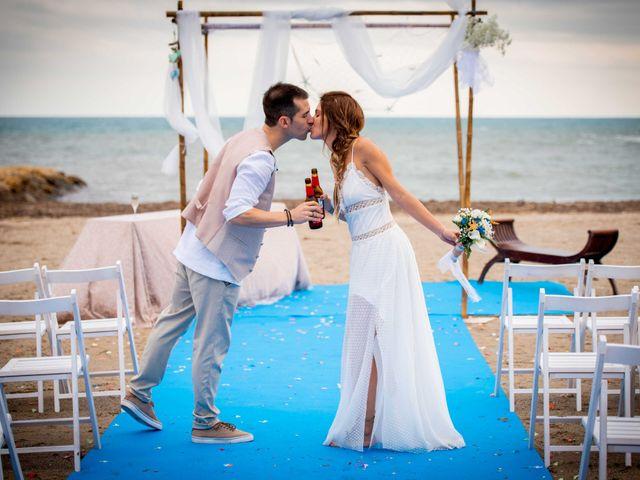 La boda de Nacho y Silvia en L' Ametlla De Mar, Tarragona 55