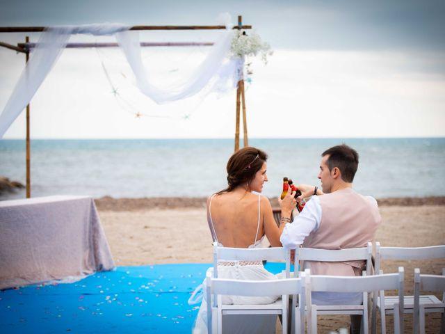 La boda de Nacho y Silvia en L' Ametlla De Mar, Tarragona 56