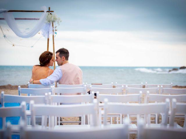 La boda de Nacho y Silvia en L' Ametlla De Mar, Tarragona 57