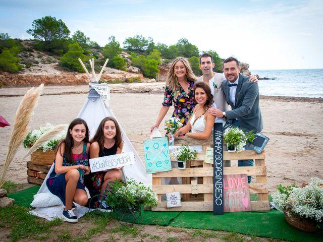 La boda de Nacho y Silvia en L' Ametlla De Mar, Tarragona 60