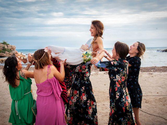 La boda de Nacho y Silvia en L' Ametlla De Mar, Tarragona 64