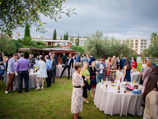 La boda de Nacho y Silvia en L' Ametlla De Mar, Tarragona 65
