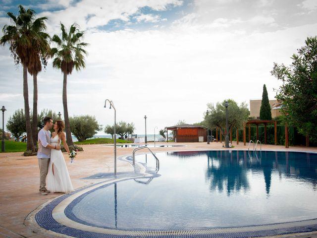 La boda de Nacho y Silvia en L' Ametlla De Mar, Tarragona 66