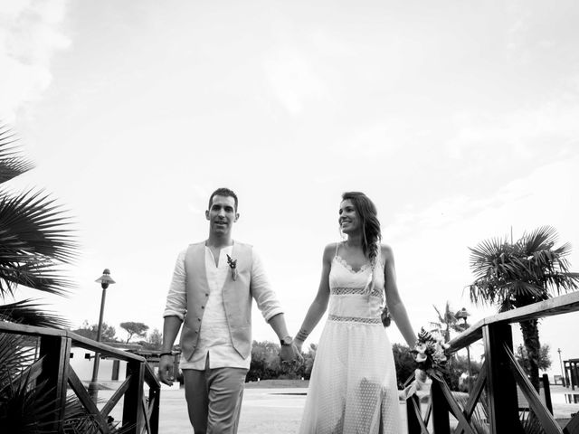 La boda de Nacho y Silvia en L' Ametlla De Mar, Tarragona 68