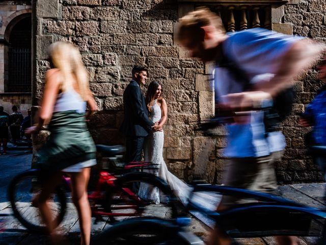 La boda de Marc y Naiara en Sant Fost De Campsentelles, Barcelona 46